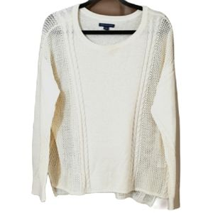 American Eagle off white light sweater 💜2/$24💜